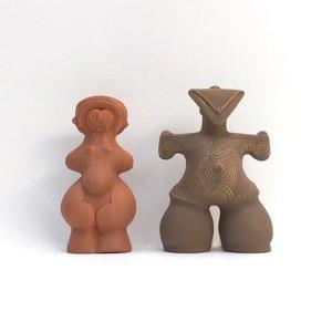 縄文土偶の貯金箱