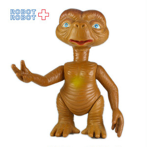 E.T. ソフビ・フィギュア 口半開き 15cm