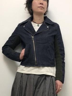 【ONE WASH】ライダースジャケット