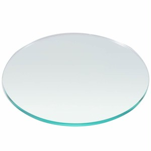 直径130mm板厚5mm ガラス色 円形アクリル板 国産 丸板 アクリル加工OK  カット面磨き仕上げ