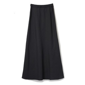 Slit Maxi Skirt - BLACK