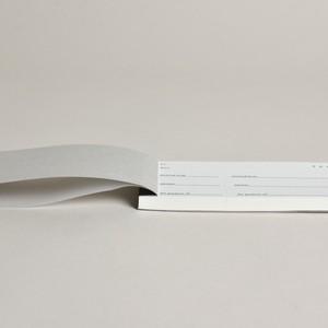 大枝活版室 × SHABBY'S MARKETPLACE オリジナル 領収書 〈文房具 / 事務 / 事務用品 / 領収書おしゃれ〉