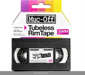 MUC-OFF / Rim tape 10ⅿ Roll / 25mm
