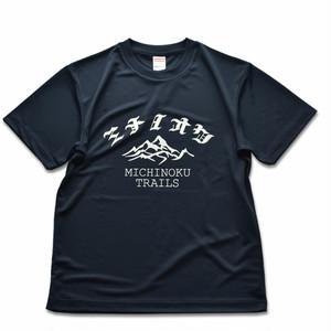 ミチノオク 4.1oz ドライTシャツ(ネイビー)