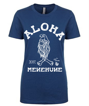 [WOMAN] MENEHUNE TEE NMC x the Fanon SPECIAL EDITION -COOL BLUE-