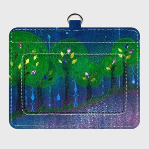 「森の唄」パスケース