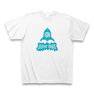 Tシャツ#004 SUMMER ROCKETのロゴTシャツ