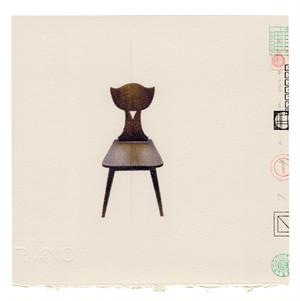 山本剛史  YAMAMOTO Takeshi 'CHAIR 2021 cafe chair'