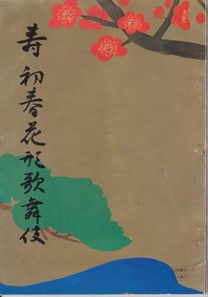 昭和48年 壽新春花形歌舞伎 大阪新歌舞伎座 興行パンフレット