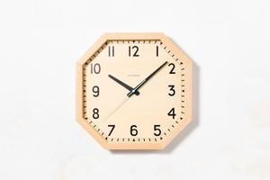 掛け時計 OCTAGON  CLOCK 【NATURAL】