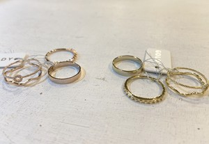GOLDY set Ring