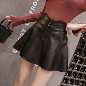 【ボトムス】組み合わせやすいファッション無地スカート17159515