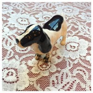 オブジェ 置物 陶器 犬 ベスウィック社 インテリア ヴィンテージ雑貨