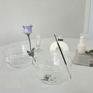 glass cup incense holder / ガラス コップ インセンスホルダー お香立て キャンドル 韓国 インテリア 雑貨