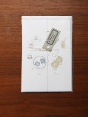 ポストカードセット おばあちゃんのおやつシリーズ〈3種3枚入〉