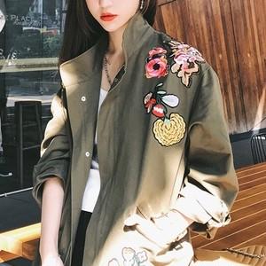 刺繍 ウインドブレーカー ジャケット 0662