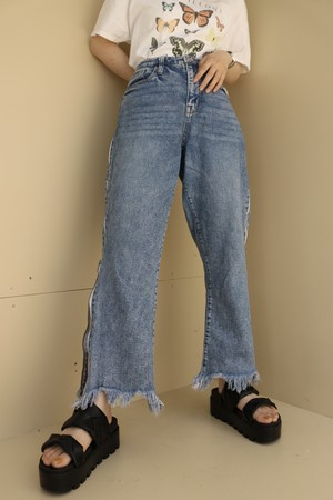 side zip pants / 6SSPT23-21