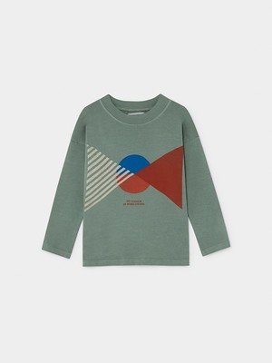 【19AW】ボボショセス(BOBO CHOSES) -FLAG LONG SLEEVE T-SHIRT[2-3y/4-5y/6-7y]