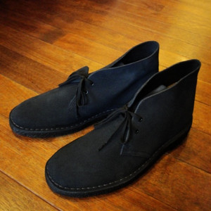 "Clarks/クラークス | 【大特価SALE!!! 30%OFF】 "" DESERT BOOT "" - Navy Suede-"