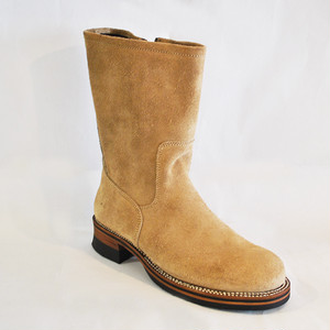【High Line】ZIP ENGINEER BOOTS HORWEEN CALICO SUEDE GR-KE318CS SAND
