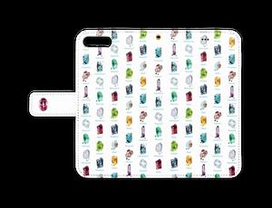 iPhone8/7plus用 天然石・誕生石スマフォケース / pixivFACTORY版