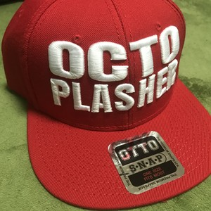 Two Lines CAP(Red-White)