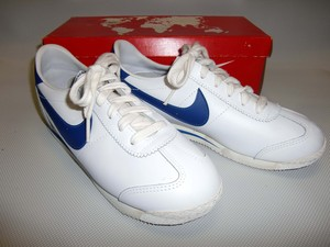NIKE  LEATHER CORTEZ   W/RB  1983  23.5cm  Dead Stock