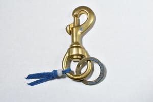 ボタンワークス Brass Wear New Key Holder