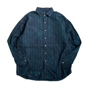 USED SHIRTS OVERDYED -VINTAGE BLUE- / I(ポロ・ラルフローレン)