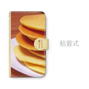 Android用 パンケーキ 手帳型マルチスマホケース