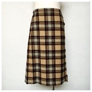 Vintage James Pringle Kilt Skirt UK14 DR_173