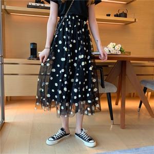 2020SS デイジーロングメッシュスカート