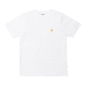 Carhartt (カーハート) S/S CHASE T-SHIRT -White / Gold M