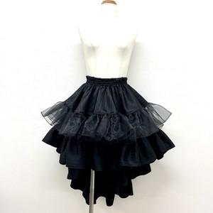 王妃フリルスカート(黒)