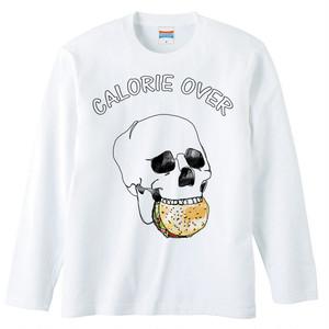 [ロングスリーブTシャツ] Calorie over