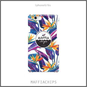 "MAFFIACHIPS  iPhone6/6s ケース ""Tropical Leaves"""