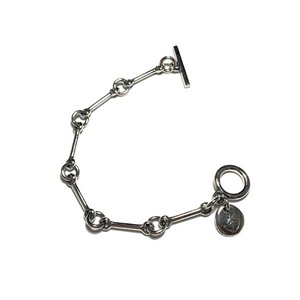 STEADY HIGH/ステディハイ Dog bone bracelet/S size(6links)