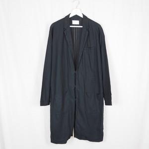 Black Linen Long Coat