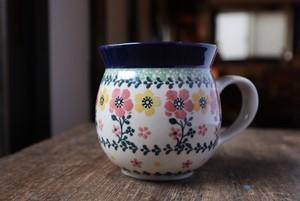 ツェラミカ マグカップ /ポーランド食器#02