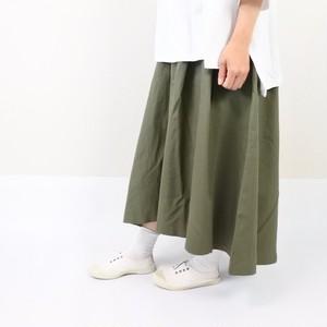 テールカットフレアスカート / カーキ
