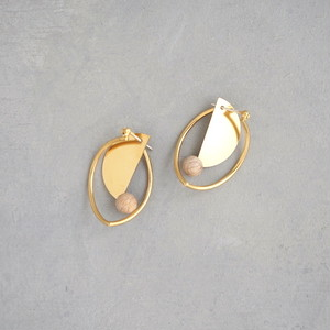 pierced earrings MP-03/earrings ME-03<gold>