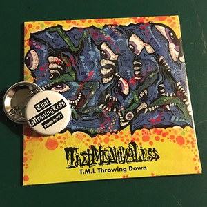 That MeaningLess / T.M.L Throwing Down (CD)缶バッチ付
