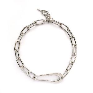 【予約販売】CAVE/Solid Necklace  Silver