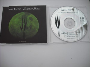 【CD single】NEIL YOUNG / HARVEST MOON (4track)