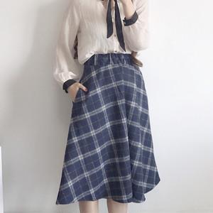 【bottoms】チェック柄ファッション清新スカート22907776
