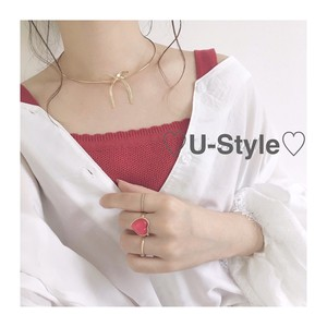 ♡ribbon necklace♡