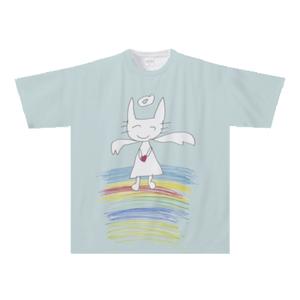 オリジナルTシャツ:みちか×DAIKI作「ねこ天使」