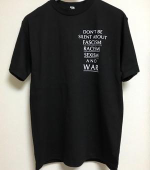 【8/18受注締切:9/3発送予定】Don't Tee 半袖 ブラック
