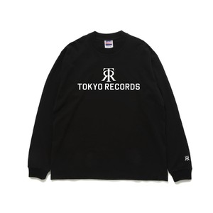 TOKYO RECORDS LONG TEE (BLK × WHT)