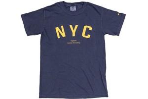 """【""""NYC"""" vintage T-shirt】/ indigo navy"""